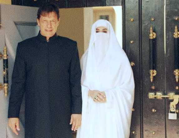 PM Imran Khan and his wife Bushra Bibi