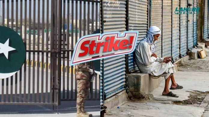 Strike in Balochistan