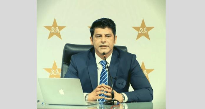 Muhammad Wasim announcing pakistan squads