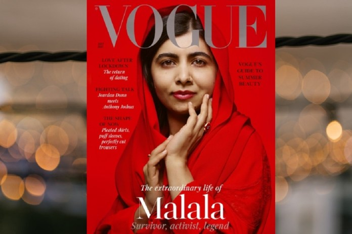 Malala features on 'Vogue' cover (1)