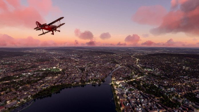 Microsoft's Flight Simulator helicopters