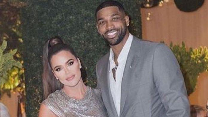 Khloé Kardashian with Tristan Thompson