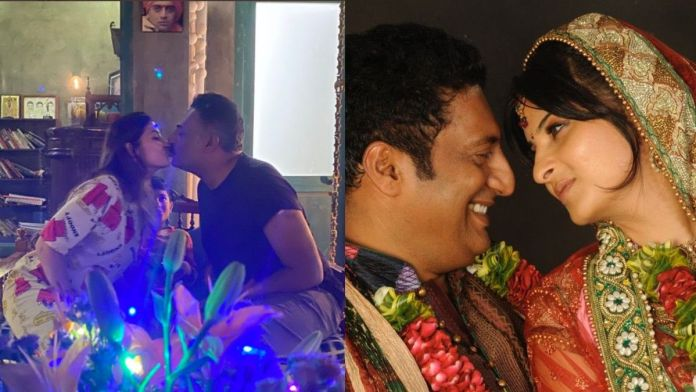 Prakash Raj, married Pony Verma for the second time