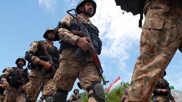 Pakistani forces operation