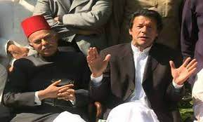 Imran Khan press conference with Nawab of Bahawalur Salahuddin Abbasi