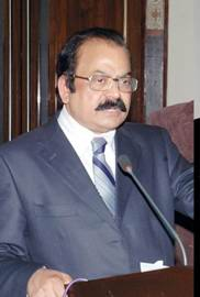 Minister for law rana sana