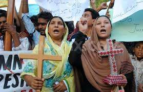 protest against blast