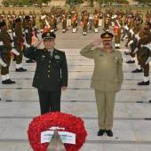 Mr. Chang Wanquan and COAS Raheel Sharif