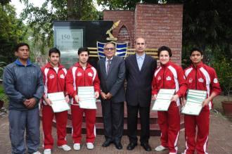 GCU _wins_ Inter-University _Gymnastic_ Championship