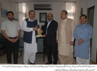 Provincial Minister for Education, Rana Mashhood Ahmed Khan