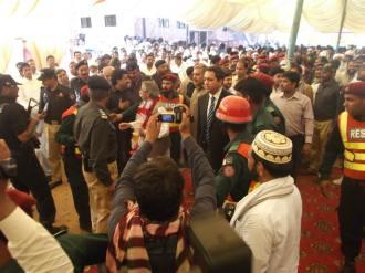 Acting Governor Punjab Rana Mohammad Iqbal inagurates Phool Nagar Rescue Station