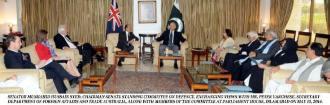 Australiaian delegation meet pak defence committee1