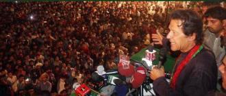Imran Khan at Dhobi Ghat ,Faisalabad