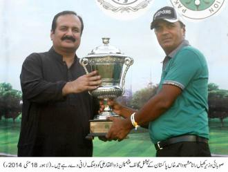 Minister Sports Rana Mashud Ahmad 18-5-14