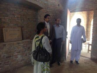 PEF-MD Dr Aneela Salman inspecting cholistan community school in adda  Sabeel