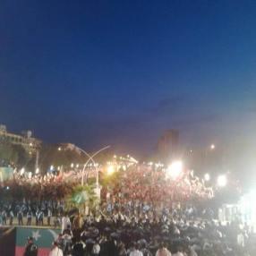 Tsunami at D chocke Islamabad
