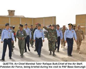 CAS visit to PAF Base Samungli