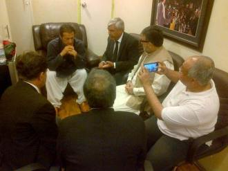 Imran meeting SBA