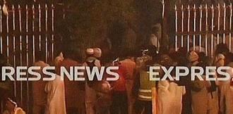 protesters enter Parliament House compound