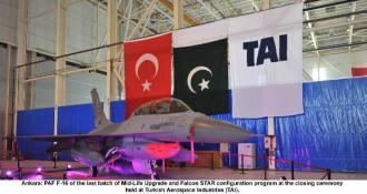 PAF F-16 last batch mid-life upgradation ceremony