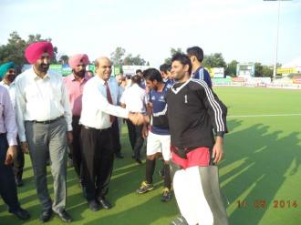 Punjab XI took a flying start in their opening match of the  Surjit Singh Memorial Hockey Tournament