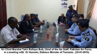 CAS meeting with Tanzanian DM