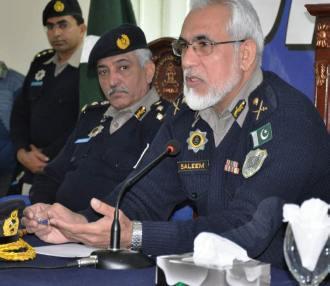 IG Motorways Muhammed Saleem Bhatti holds Darbar in Lahore