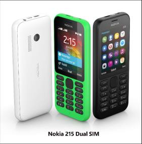 Nokia 215 Dual SIM - Group photo