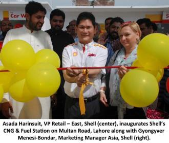 Shell new CNG & Fuel Station