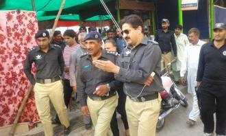 SP Sadar Zahid Nawaz,SHO Ch Muhammad Sarwar