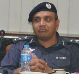 DIG Ops Dr Haider Ashraf