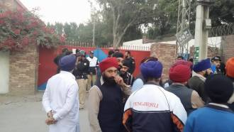 Sikh Protest near Saddar Thana