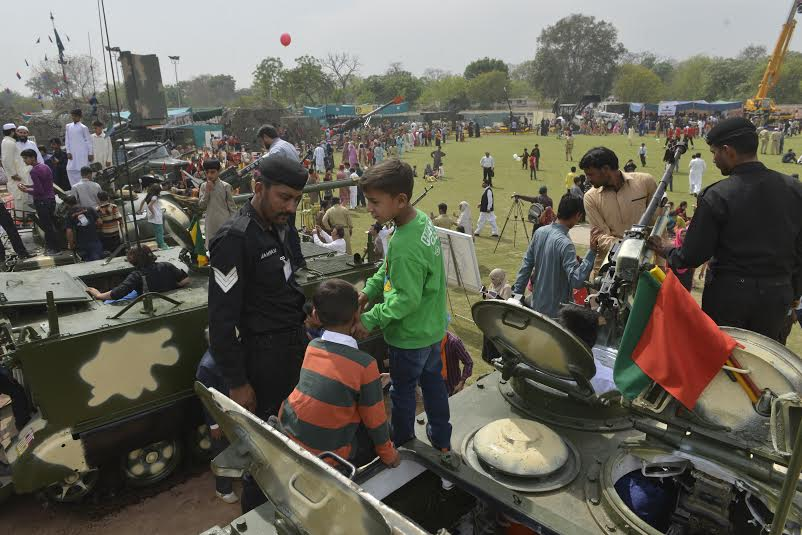 the defence exhibition in Ayub steduim | Lahore News, political