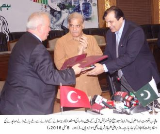 ISKI signs MoU with Punjab government for improving efficiency of WASA