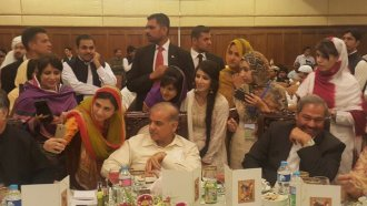 hosted dinner in the honor of position-holding students from Balochistan this evening in Lahore