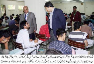 Najam Ahmad Shah,VC UHS Dr Aslam.1