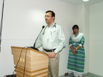 Lahore General Hospital  arranged '3 day Hands on Colonoscopy' training workshop