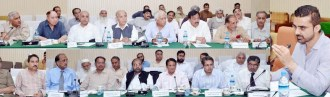 Secretary Agriculture Muhammad Mehmood meeting with stakeholders