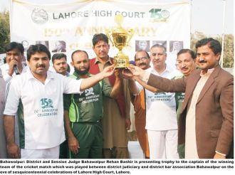 session-judge-bahwalpur-rehan-bashir-presenting-trophy-to-the-winning-side