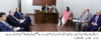 world-bank-mission-met-punjab-chief-minister-muhammad-shahbaz-sharif