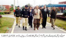 Minister jails Malik Ahmad Yar Hanjra