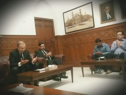 CJ LHC Syed Mansoor Ali Shah attends condolence reference