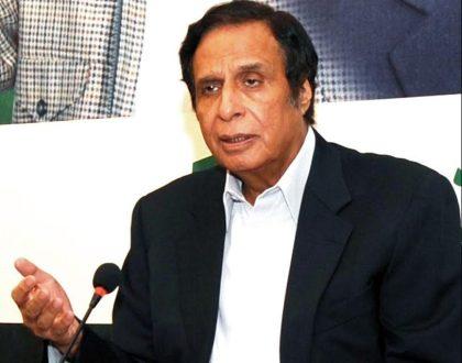 Rangers should be given full powers like Karachi operation : Ch Pervaiz Elahi