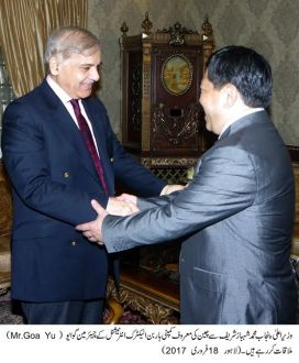 Harbin Electric International Chairman called on Chief Minister Punjab