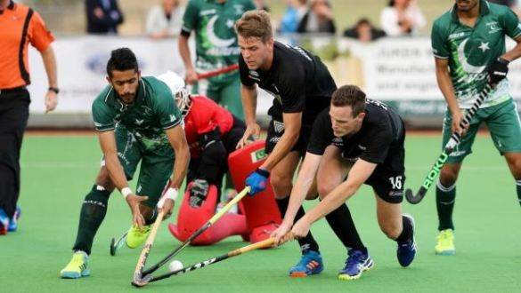 Pakistan defeated New Zealand 2-1 in the fourth hockey test in Wairarapa
