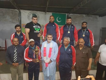 WAPDA Won Championships by winning Six (6) Gold and One (1) Bronze Medal