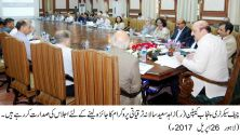 Chief Secretary directs early completion of development projects