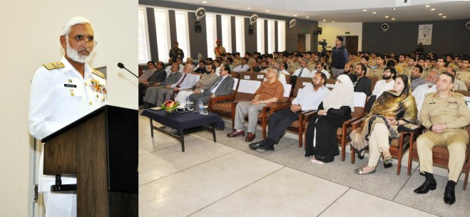 Chief of the Naval Staff Visits Cadet College Hasan Abdal