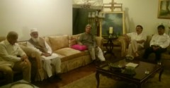 Shahbaz Sharif visited the residence of former DIG Maj. late Mubashar