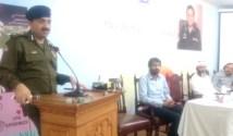 CTO and Mushtaq Ahmad ask wardens to show good behaviour